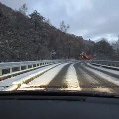 朝晩の路面凍結にご注意下さい !の画像