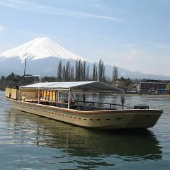 当施設桟橋から、屋形船・快速船利用できますの画像