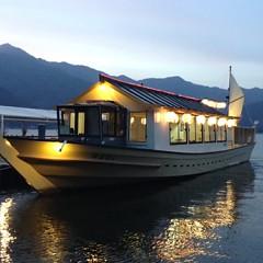 屋形船での船上鍋ディナー可能ですの画像