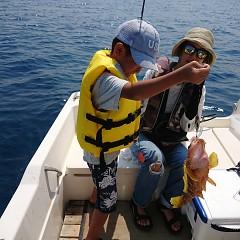 本日、ルアー釣り体験プランの写真その1