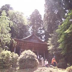 金峯神社で修行のツラさを知るの画像