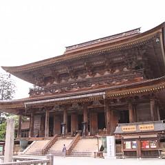 吉野山の象徴・金峯山寺の画像