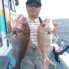 10月21日(金)午後便・ウタセマダイ釣りの写真その1