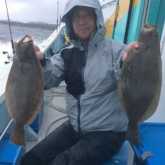 ■10月25日(火)朝便・ヒラメ釣りの写真その2