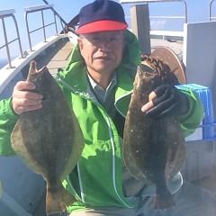 ■10月26日(水)朝便・ヒラメ釣りの写真その4