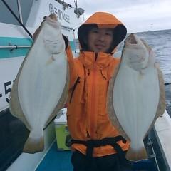 ■10月28日(金)朝便・ヒラメ釣りの写真その2