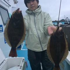 ■10月28日(金)朝便・ヒラメ釣りの写真その4