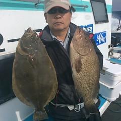 ■10月31日(月)朝便・ヒラメ釣りの写真その2