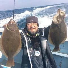 ■10月31日(月)朝便・ヒラメ釣りの写真その5