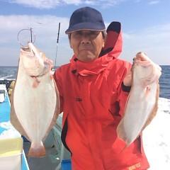 ■10月31日(月)朝便・ヒラメ釣りの写真その6