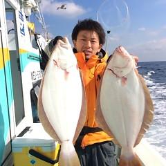 11月25日 (金)  午前便・ヒラメ釣りの写真その1