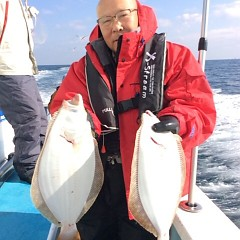 11月25日 (金)  午前便・ヒラメ釣りの写真その2