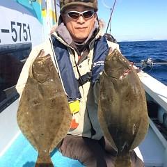 11月26日 (土)  午前便・ヒラメ釣りの写真その2
