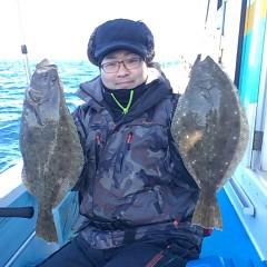 11月26日 (土)  午前便・ヒラメ釣りの写真その7