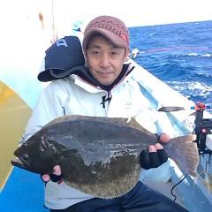 11月29日(火)午前便・ヒラメ釣りの写真その1