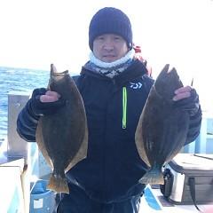 11月29日(火)午前便・ヒラメ釣りの写真その2