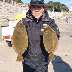 11月29日(火)午前便・ヒラメ釣りの写真その4