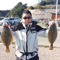 11月29日(火)午前便・ヒラメ釣りの写真その5