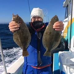 12月3日 (土)  午前便・ヒラメ釣りの写真その2