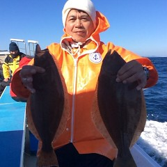 12月3日 (土)  午前便・ヒラメ釣りの写真その6