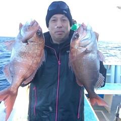 12月18日 (日)  午後便・ウタセ真鯛の写真その2