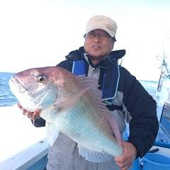 12月21日 (水)  午前便・ヒラメ釣りの写真その1