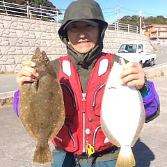 12月25日 (日)  ヒラメ釣りの写真その4