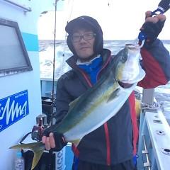 1月3日(火)8時〜イワシの泳がせ釣りの写真その8