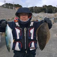 1月15日(日)午前便・ヒラメ・青物釣りの写真その2