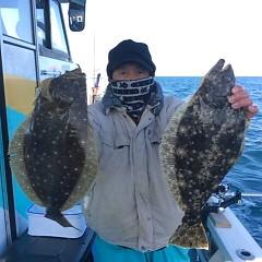 1月18日(水) ヒラメ・青物釣りの写真その1