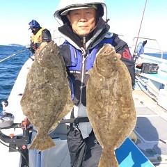 1月18日(水) ヒラメ・青物釣りの写真その3