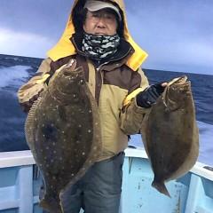 1月22日(日) ヒラメ・青物釣りの写真その1