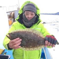 2月1日 (水)午前便・泳がせ釣りの写真その2