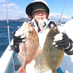 2月11日 (土)午前便・泳がせ釣りの写真その1