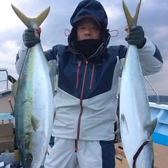 2月17日 (金)1日便・泳がせ釣りの写真その2