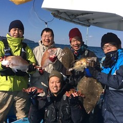 2月19日 (日)1日便・泳がせ釣りの写真その1