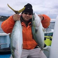 2月22日 (水)1日便・泳がせ釣りの写真その1