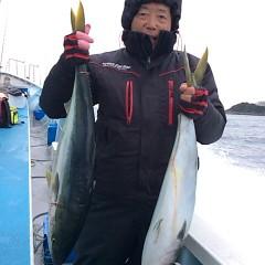 2月22日 (水)1日便・泳がせ釣りの写真その3