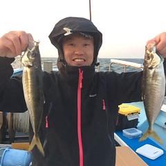 3月19日(日)午前・午後便・アジ釣りの写真その2