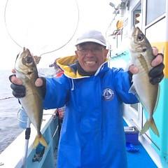 3月25日 (土)午後便・アジ釣りの写真その1