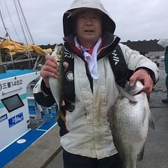 3月26日 (日)午前便・アジ釣りの写真その1