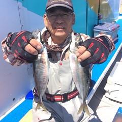 4月28日 (水)午前便・アジ釣りの写真その1