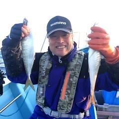 4月28日 (水)午後便・アジ釣りの写真その1