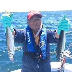 5月27日 (土)午前便・アジ釣りの写真その1