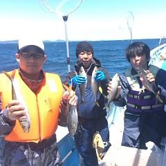 5月27日 (土)午前便・アジ釣りの写真その2