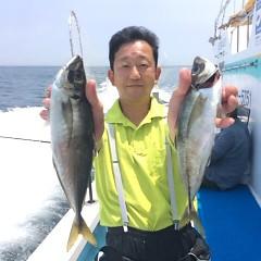 5月29日 (月)午前便・アジ釣りの写真その2
