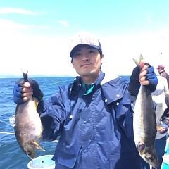 6月13日 (火)午前便・アジ釣りの写真その1