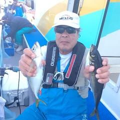 6月16日(金)午前便・イサキ、アジ釣りの写真その3