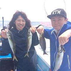 6月17日(土)午前便・イサキ、アジ釣りの写真その1