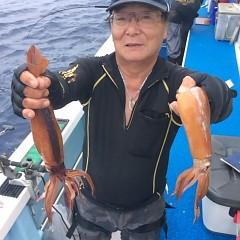 7月17日(月) 一日便・スルメイカ釣りの写真その5